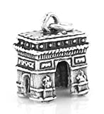 14Kt LArc de Triomphe Paris Charm Pendant Jewerly Making Supply Bracelet DIY Crafting by Easy to be happy!