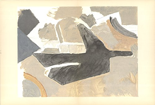 Georges Braque-Untitled-1967 Lithograph - Braque Lithograph