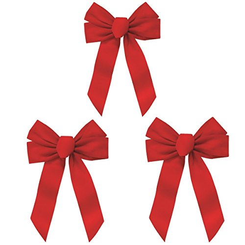 Rocky Mountain Goods Red Bow - Christmas Wreath