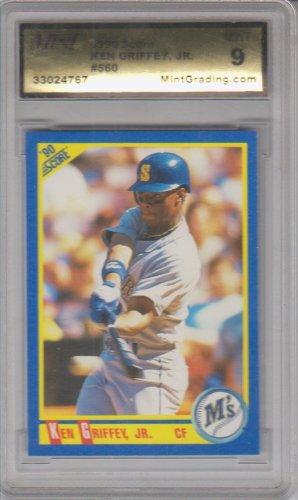 db47656c49 1990 Score Ken Griffey Jr. #560 Mint 9 2nd Year at Amazon's Sports ...