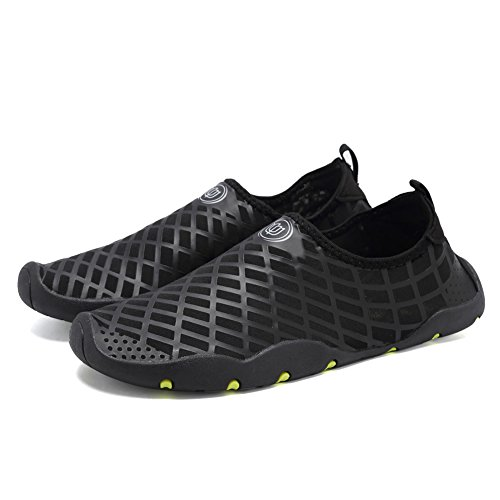 CIOR Men Women Kids Barefoot Quick-Dry Water Sports Aqua Shoes With 14 Drainage Holes For Swim, Walking, Yoga, Lake, Beach, Garden, Park, Driving, Boating