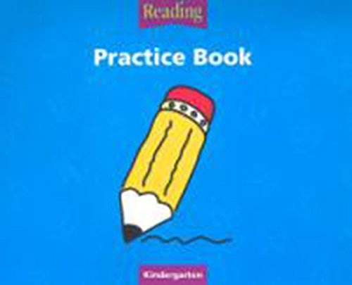 Houghton Mifflin Reading: Practice Book, Grade K (Houghton Mifflin Reading: The Nation's Choice)