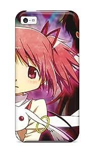 Iphone 5c Case Bumper Tpu Skin Cover For Mahou Shoujo Madoka Magica Miki Sayaka Sakura Kyouko Kaname Madoka Anime Akemi Homura Kyubey Accessories