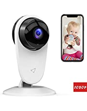 Victure 1080P FHD Baby Monitor Home WiFi Security Camera Sound/Motion Detection with Night Vision 2-Way Audio Cloud Service Available Surveillance Monitor Baby/Elder/Pet Compatible with IOS/Android