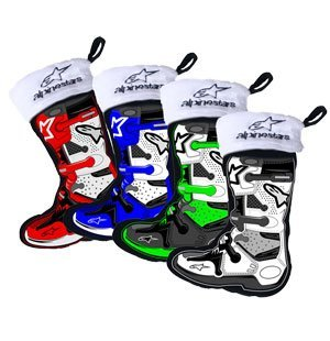 Smooth Alpinestars Mini Stockings Ornaments (4pk.) 5200-200 (Alpine Industries)