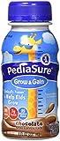 PediaSure Complete Balanced Nutrition Liquid, Chocolate Flavor, Model: 53587-8 Oz/Bottle, 24 Ea