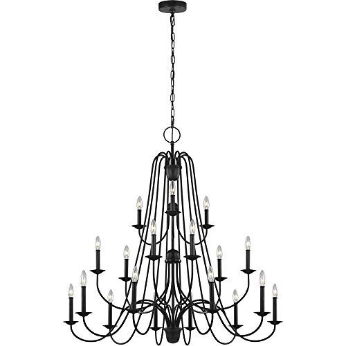 Sea Gull Lighting F3207/18AF Boughton Eighteen Light Chandelier, 18, Antique Forged Iron