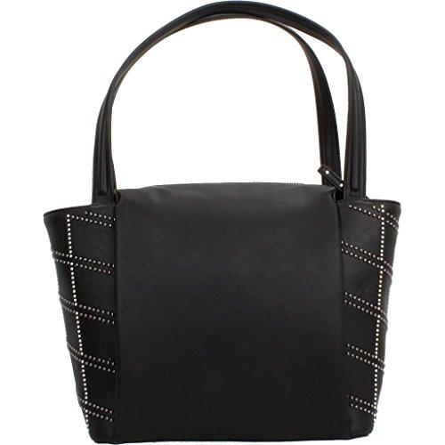 Y Shoppers hombro CALVIN Negro MISHA Para marca modelo de GRAPHIC Shoppers bolsos Mujer MEDIUM para Hombro mujer Bolsos CALVIN Negro KLEIN De y color KLEIN rtHOwqr