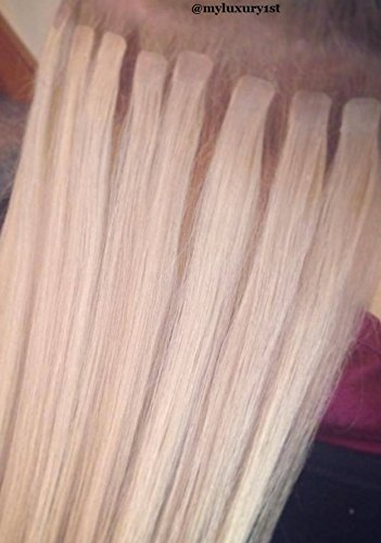 10 micro mini tape in remy hair extensions bleach blonde tiny 10 micro mini tape in remy hair extensions bleach blonde tiny square tip strands 20 pmusecretfo Images