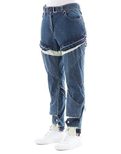 Jeans SACAI Femme Coton Bleu 1803872401 0xRqwPq1nT