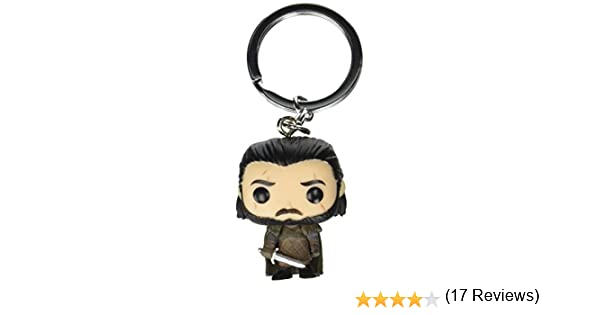 Funko Pop!- Game of Thrones Llavero de Vinilo Jon Snow, (14690-PDQ)