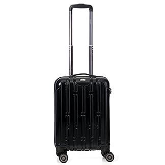 Viajes Aerolite PET Ecológico premium de Shell duro de la rueda 8 Spinner equipaje maleta trolley Los casos con Integrada aprobados por la TSA 3 dígitos cerradura de combinación