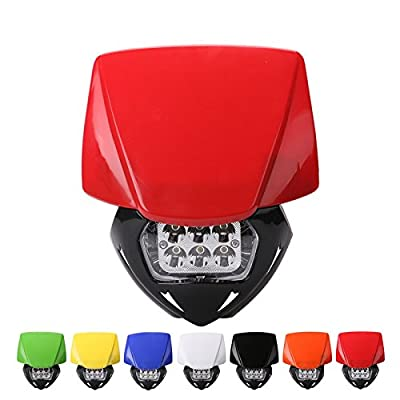 Motorcycle Head Lights Headlights Headlamp with LED Turning Light for Kawasaki CRF YZF KTM RMZ KLX Dirt Pit Bike Motocross