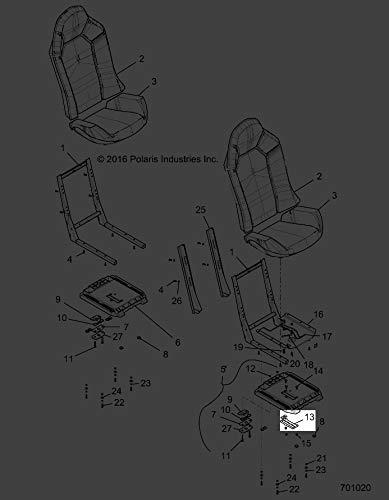 Polaris 2014-2018 Rzr 900 60In Eutractor Rzr Xp 1000 Intl Brkt Seat Slider Adj