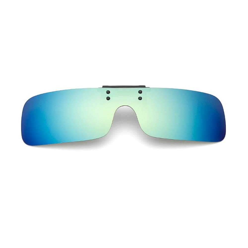 Tchin Miopía Gafas Clip Cuadrado polarizado Color película ...