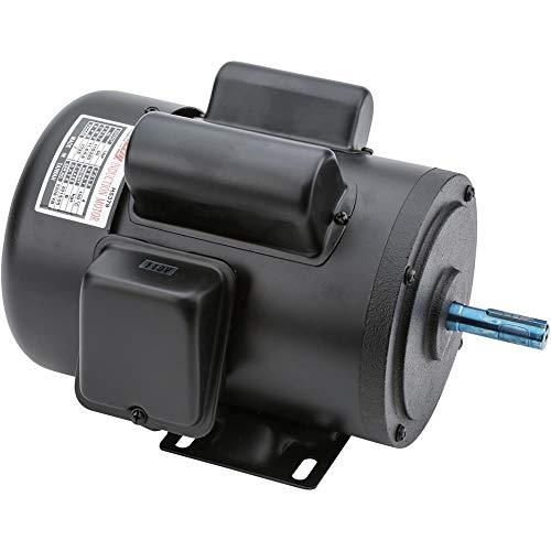 Grizzly H5379 Motor 1 HP Single-Phase 1725 RPM TEFC 110V/220V ()