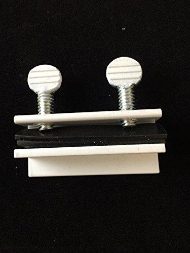 Window Double Thumb Screw Lock (Beisen Aluminm Double Thumb Screw Turn Patio Sliding Door and Window Lock (10 Pack) WHITE)
