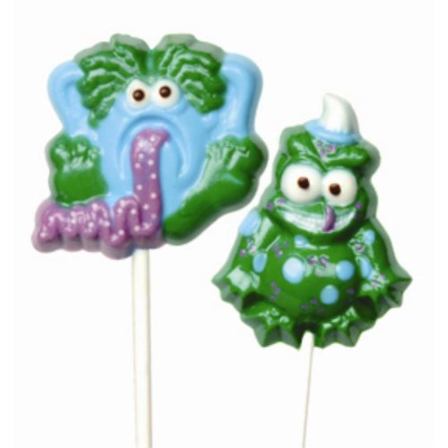Make N' Mold 1089 Dress My Cupcake Silly Monster Lollipop Candy Mold