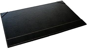 Sous main bureau noir simili cuir 56 x 36 cm: amazon.fr