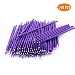500 PCS Disposable Micro Applicators Bru...