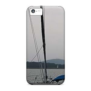 New Tpu Hard Case Premium Iphone 5c Skin Case Cover(port Of Volos)