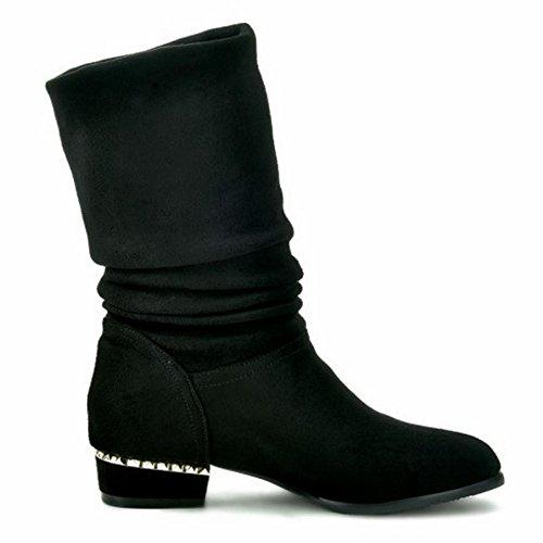 Boots Fashion VulusValas Fashion VulusValas Women Boots Boots Black VulusValas Fashion Women Women Black nwxpTtqgEf