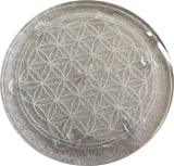 Fortune Telling Toys Crystal Balls Divination Tool See The Future Flower of Life Charge Crystals 10''