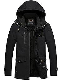 "<span class=""a-offscreen"">[Sponsored]</span>Men's Ourdoors Cotton Jackets Coats Windbreakers"