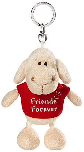e9b558136 Nici Sheep White Red T-Shirt Friends Forever 10Cm Bb Kh  Amazon.in ...