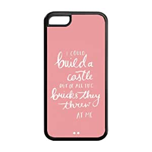 the Case Shop- Taylor Swift Quotes Singer TPU Rubber Hard Back Case Silicone Cover Skin for iPhone 5C , i5cxq-479 by mcsharks
