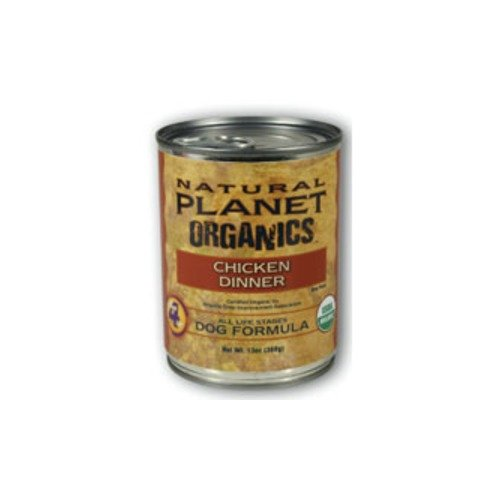 Natural Planet Organics Chicken Dinner Formula Canned Dog Food