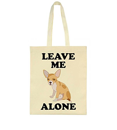 Sad Tote Leave Alone Me Bag Dog qIWE6O
