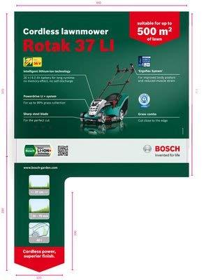 Bosch Rotak arranview cuchilla (Para: Rotak 37-Li inalámbico ...