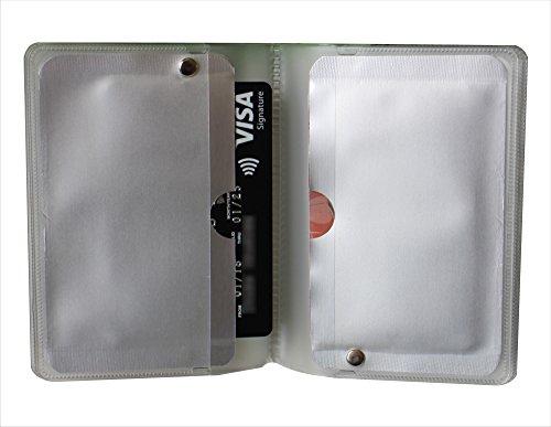 Wenxing 12 Slots RFID Wallet Card Protector Prevent ID Card skimming by NFC or RFID Scanners OEM welcome
