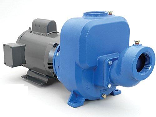 50SPM40 Goulds Self Priming Water Well Pump Med Head 5HP 208-230/460V 3ph Med Head Pump