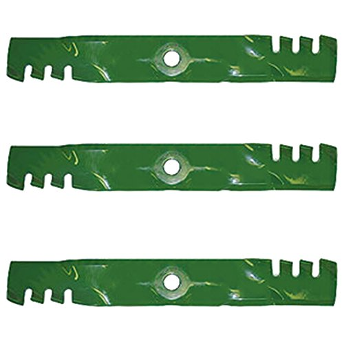 - B1PD1054 Pack of 3 Mulching Blades for John Deere JD Mower Models 54C Deck