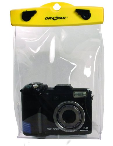 DRY PAK Camera Case, Clear, 6 x 8 x - Clear Dry Pak