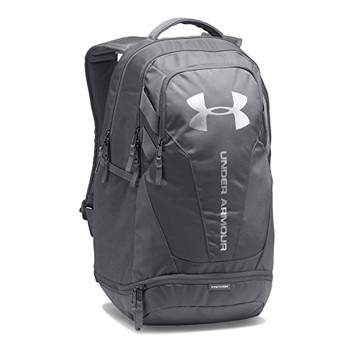 Under Armour Hustle 3.0 Backpack,Graphite (040)/Silver, One ()