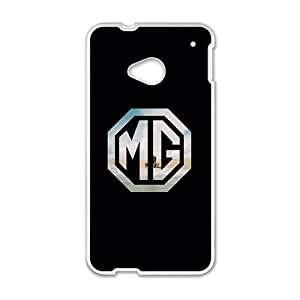SANLSI MG car sign fashion cell phone case for HTC One M7