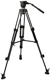 E-Image EK50AAM Video Photo Studio Tripod and Fluid Drag Kit