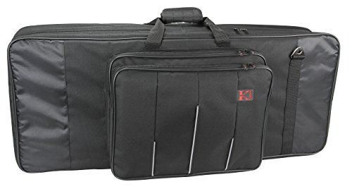 Kaces 6-KB Xpress Series Keyboard Bag, 61-Key, small (37'' x 15'' x 6.5'') by Kaces (Image #1)