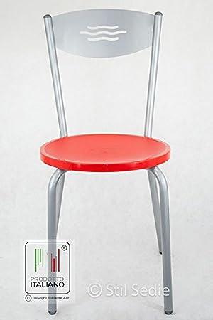 Stil Chaises Chaise Cuisine Fer Taille Unique