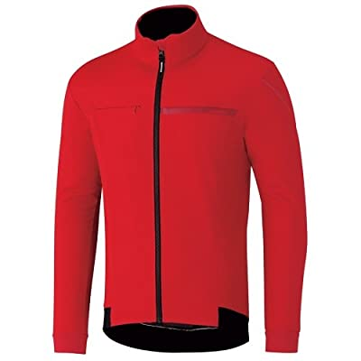Shimano ECWJAPWQS22MD6 Veste Coupe-Vent Homme, Rouge (Rojo), FR : 2XL (Taille Fabricant : 2XL)