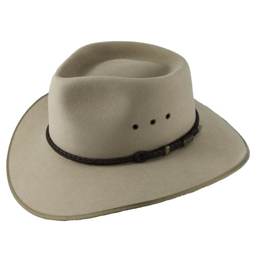 Akubra Cattleman Hat - Sand - 56cm by Akubra Hats