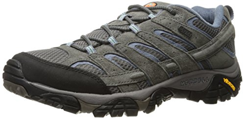 Merrell Women's Moab 2 Waterproof Hiking Shoe, Granite, 7.5 M US - Merrell Ladies Shoes