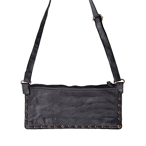 Women's One DuDu Women's Size black Shoulder Bag black Shoulder DuDu q1fxT4
