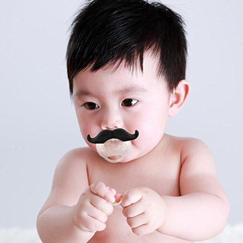 Cisixin Chupete Bebé Recién Nacido Bigote