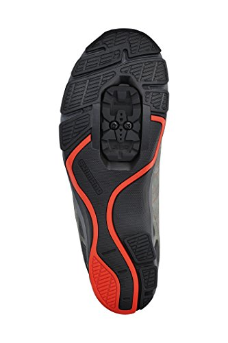 24587a314f8 Shimano SHCT80 Cycling Shoe Mens Grey Orange SBFqjnR - bownewmexico.com