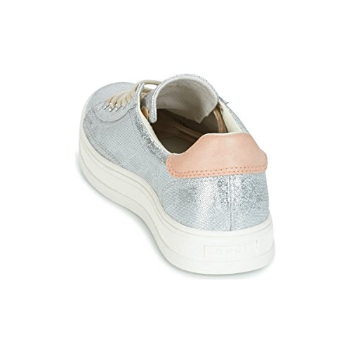 Basses Up Sneakers Lace Simona Esprit Gris Femme q810O8xw