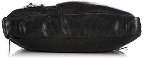 Cowboysbag Bag Manhattan - Bolso de hombro unisex Negro (black 100)